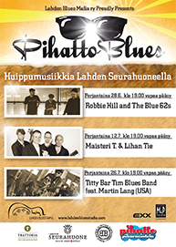 Pihatto Blues 2013